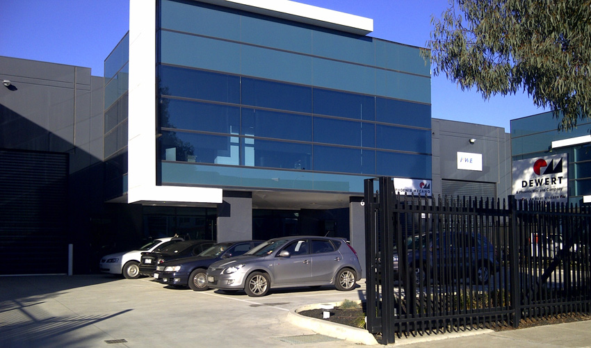 Head office of Phoenix Mecano Australia in Tullamarine