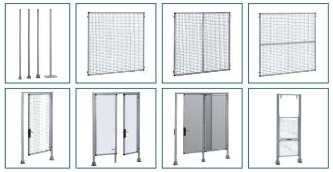 Safety guard systems from RK Rose+Krieger for machines / plants / danger zones
