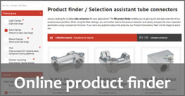 product finder tube connectors